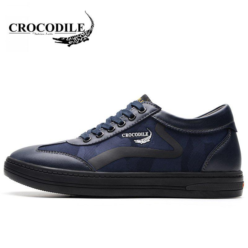 CROCODILE Inside Heighten The New Men's Casual Shoes 2018 WFX00372046 - BLUE 38