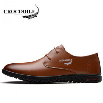 CROCODILE New Men Casual Shoes WFX00372050 - BROWN 38