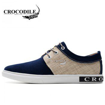 CROCODILE New Men Casual Shoes WFX00372058 - BLUE 38