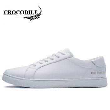 CROCODILE New Men Casual Shoes WFX00372059 - WHITE 44