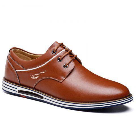 CROCODILE New Men Casual Shoes WFX00372062 - BROWN 39