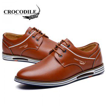 CROCODILE New Men Casual Shoes WFX00372062 - BROWN 40