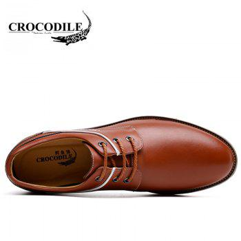 CROCODILE New Men Casual Shoes WFX00372062 - BROWN 38