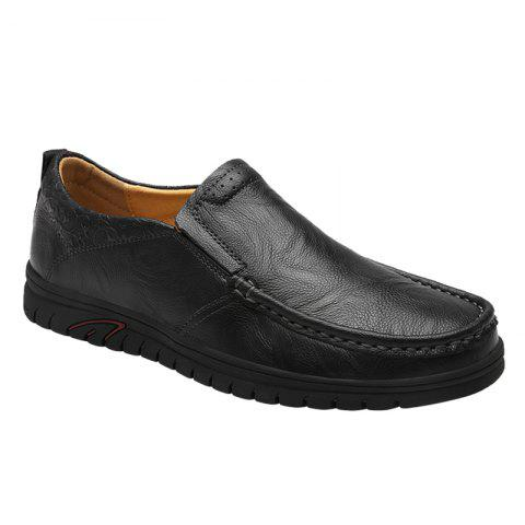 The New Fashion Men's Casual Shoes 8037 - BLACK 43