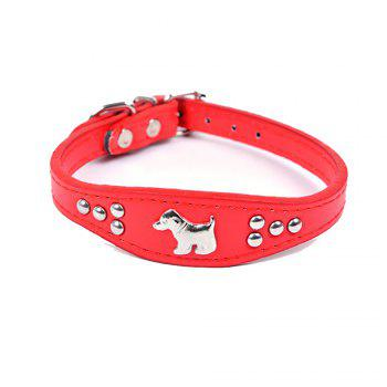 Household Small Pet Collar - RED RED