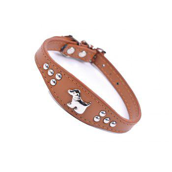 Household Small Pet Collar -  BROWNIE