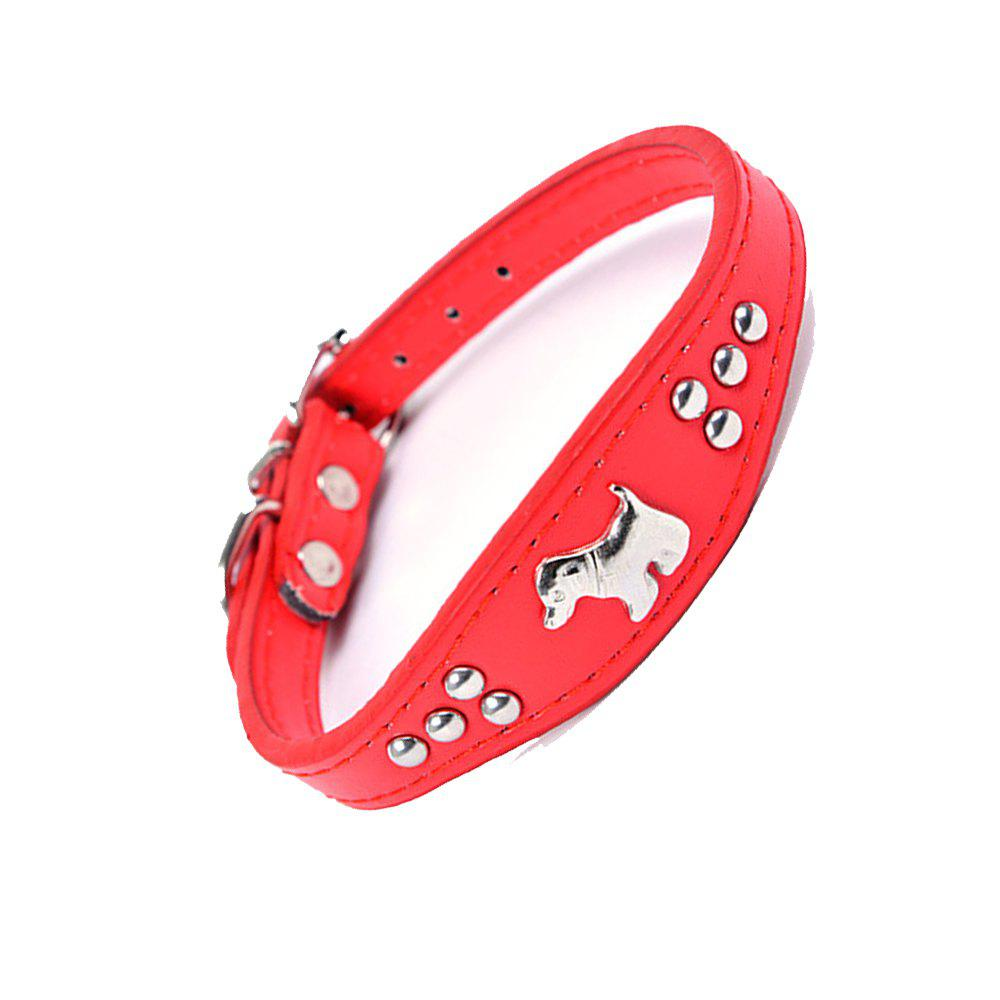 Household Small Pet Collar - RED