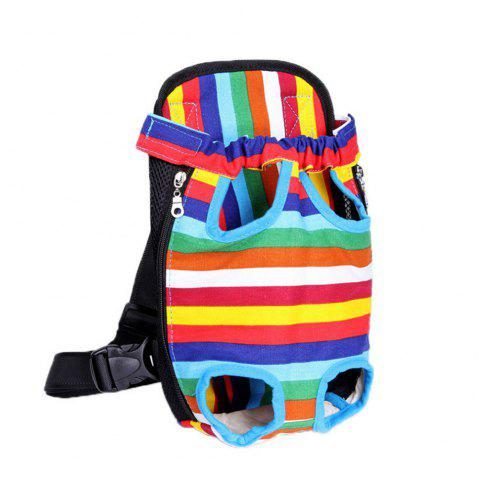 Pets Go Out Chest Backpack - multicolorCOLOR S