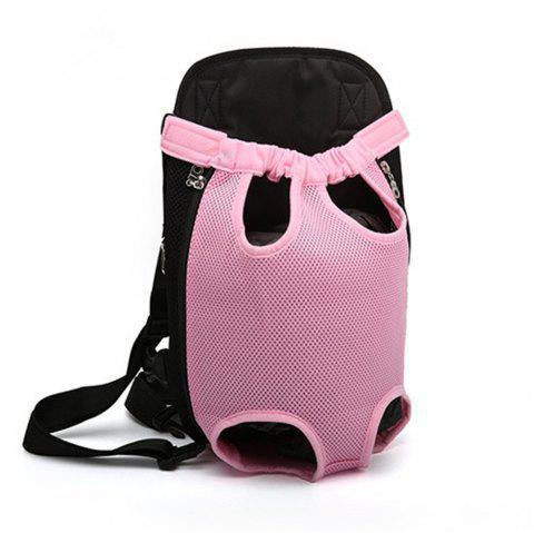 Pets Go Out Chest Backpack - PINK XL