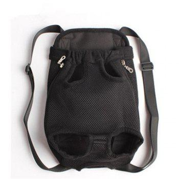 Pets Go Out Chest Backpack - BLACK BLACK