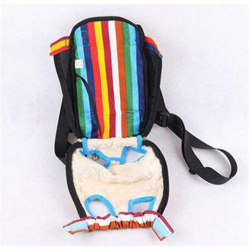 Pets Go Out Chest Backpack - multicolorCOLOR L