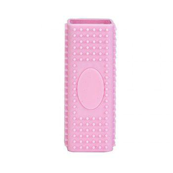 Hollow Silicone Pet Hair Removal Brush - PINK PINK