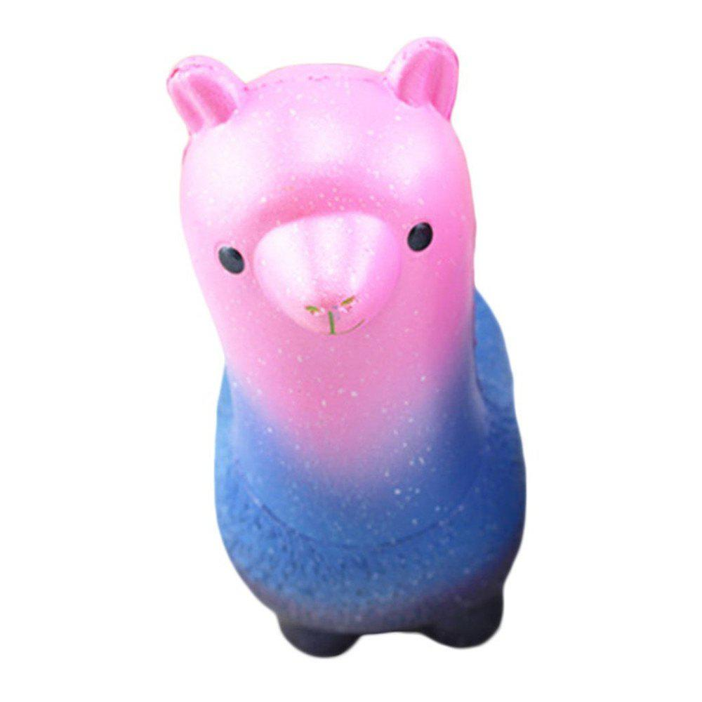 Funny Squishies Colored Alpaca Slow Rising Toys Rainbow Jumbo Cream Scented Time Killer Squeeze Kid Toy Charm Gift бра mantra bahia 5236 5239