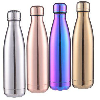 Fashion 4 Colors 500ML Stainless Steel Insulated Cup Coffee Tea Thermos Mug Thermal Bottle Thermocup Travel Drink Bottle - multicolorCOLOR