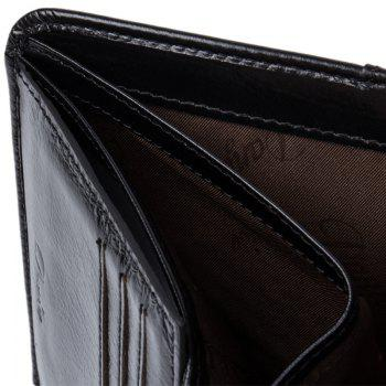 DANJUE New Wallets Men Luxury Genuine Cow Leather Brand Man Purse Vintage Short Big Capacity Business Designer Licence - MOCHA