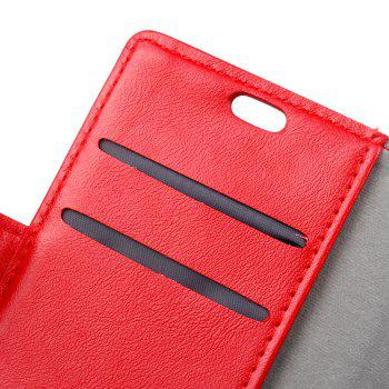 Cover Case for Huawei Honor 9 Lite Vintage Crazy Leather - RED