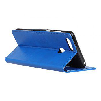 Cover Case for Huawei Honor 9 Lite Vintage Crazy Leather - BLUE