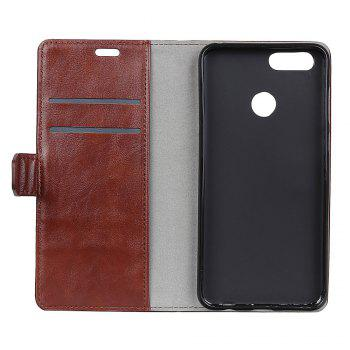 Cover Case for Huawei Honor 9 Lite Vintage Crazy Leather - BROWN