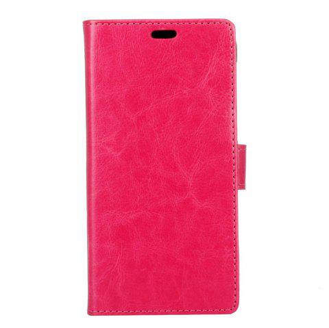 Housse de protection pour Huawei Honor 9 Lite Pure Crystal Crystal Texture cuir - Rouge Rose