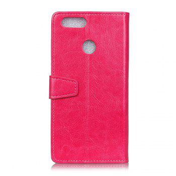 Housse de protection pour Huawei Honor 9 Lite Pure Crystal Crystal Texture cuir - rose