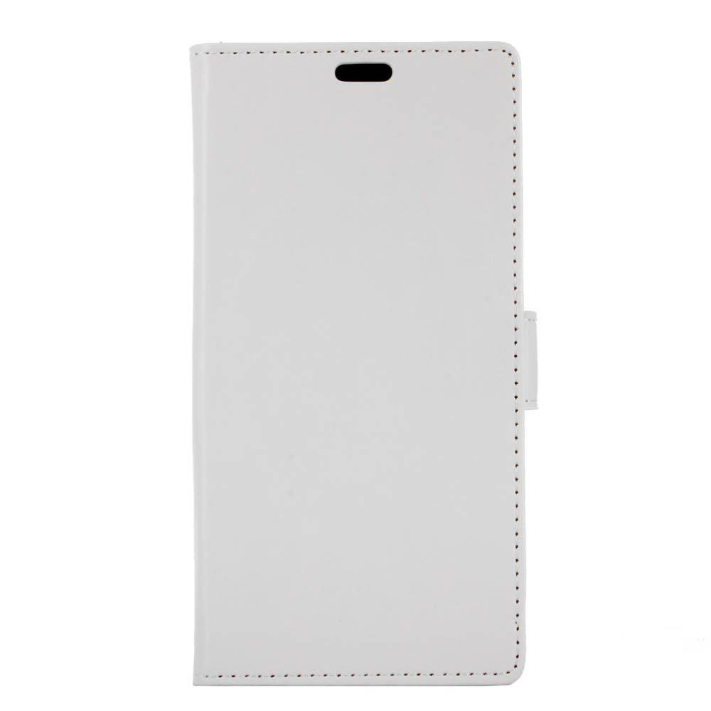 Housse de protection pour Huawei Honor 9 Lite Pure Crystal Crystal Texture cuir - Blanc