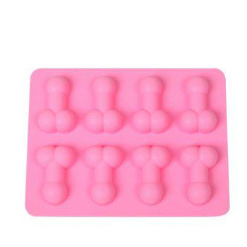 DIHE DICK Multifunctional Diy Cake Chocolate Ice Cube Mould - PINK
