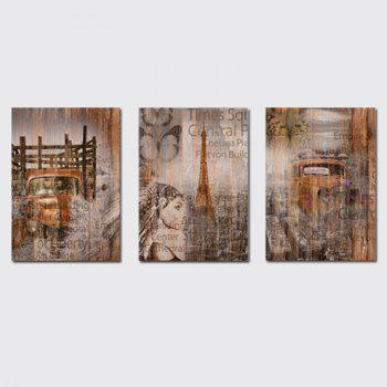 QiaoJiaHuaYuan No Frame Canvas  a Picture of the Living Room Sofa Background Print - COLORMIX COLORMIX
