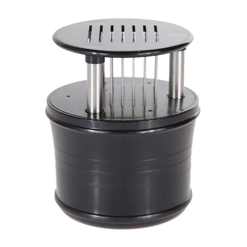 56 Needles Meat Tenderizer High Quality Stainless Steel Kitchen Tool - BLACK