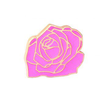 6 Pcs Women's Brooch Sweet Style Color Block Faddish Elegant Accessory - COLORMIX