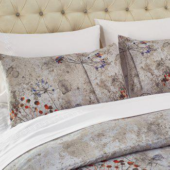 Printing Sanding Bedding Set in Vogue 02 - FLORAL FLORAL