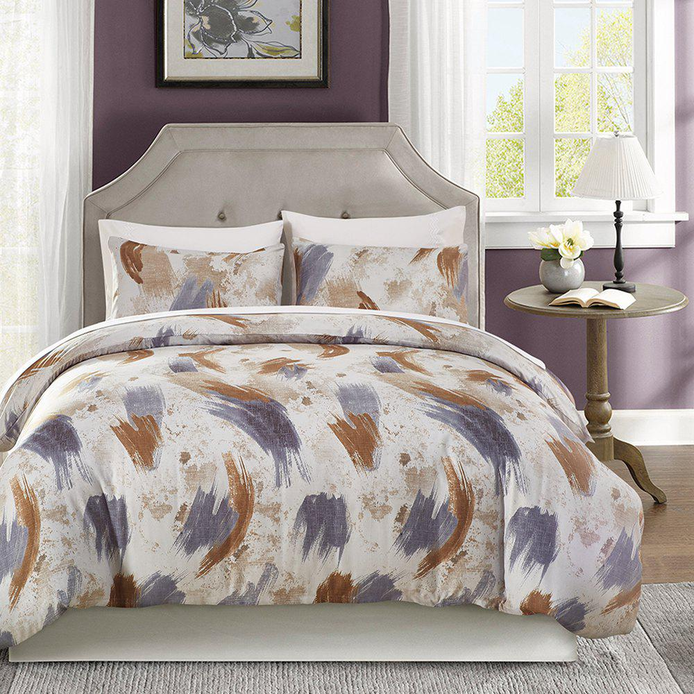 Printing Sanding Bedding Set in Vogue 03 - FLORAL TWIN