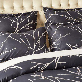 Printing Sanding Bedding Set in Vogue 12 - FLORAL QUEEN