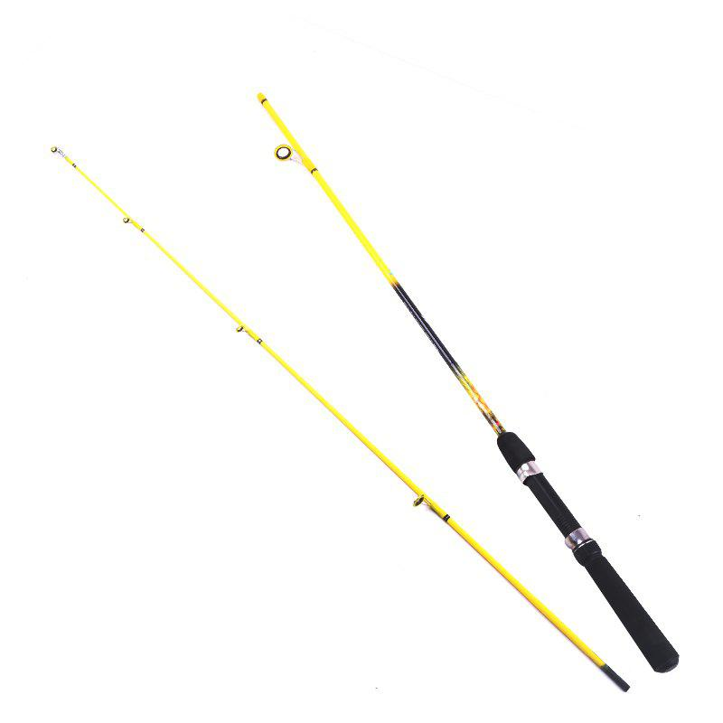 YIYA MG Plugable Spinning Fishing Rod 1.8M 2SECTIONS Medium 142G - YELLOW SPINNING