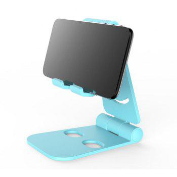 Dual Foldable Phone Stand Multi-Angle Cell Phone Tablet Stand for All Other Tablets Phones - BLUE BLUE