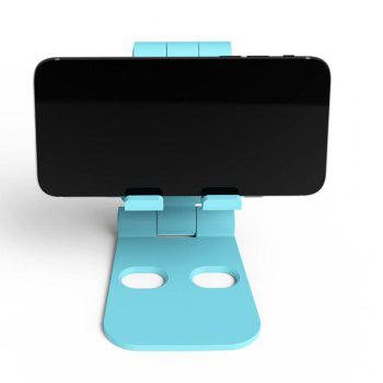 Dual Foldable Phone Stand Multi-Angle Cell Phone Tablet Stand for All Other Tablets Phones -  BLUE