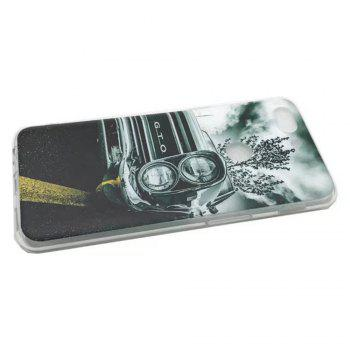 Cover Case For OnePlus 5T Fashion Printing Color Pattern Soft TPU Back Phone Case - GRAY