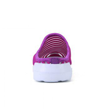 Fashion Mesh Slippers for Women - PURPLE 40