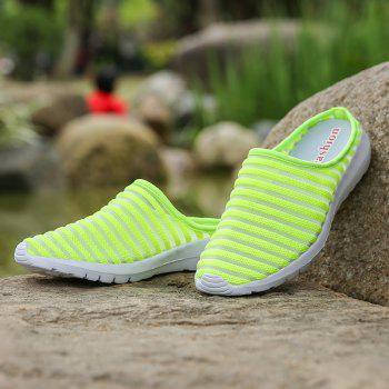 Fashion Mesh Slippers for Women - GREEN 36