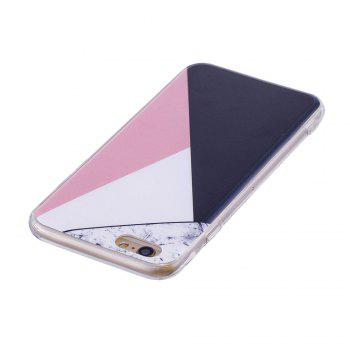 TPU Soft Case for iPhone 6 Plus / 6s Plus Bab Marble Style Back Cover - COLORFUL