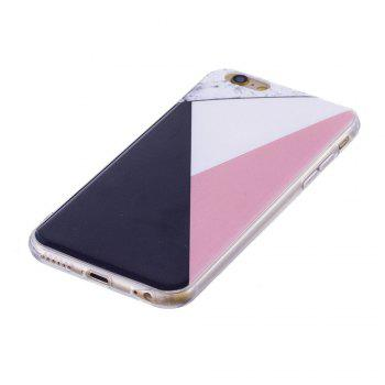 TPU Soft Case for iPhone 6 / 6s Bab Marble Style Back Cover - COLOUR
