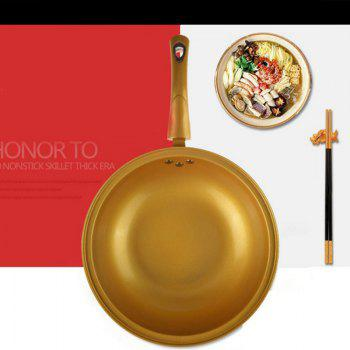 Vacuum Energy Saving Cooker Nonstick Frying Pan Gift exhibition pot - GOLDEN