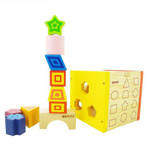 Early Childhood Shape Cognitive Toy Box for Children - COLORMIX