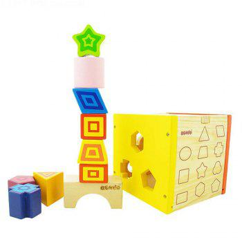 Early Childhood Shape Cognitive Toy Box for Children - COLORMIX COLORMIX