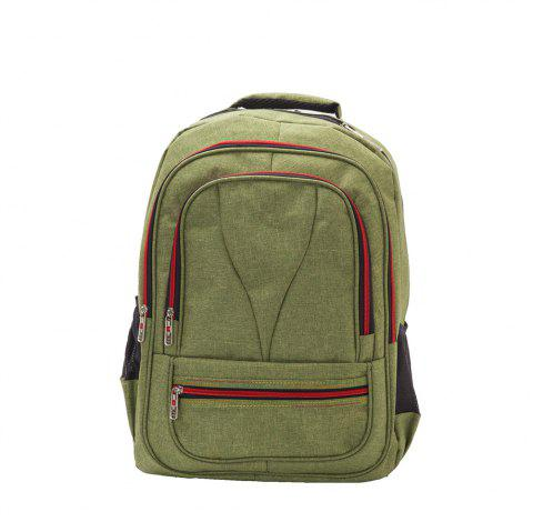 1Pcs Casual Backpack Multi-Functional Student Computer Bags Fashion Trendy  Travel Backpacks - GREEN c591e402dd175