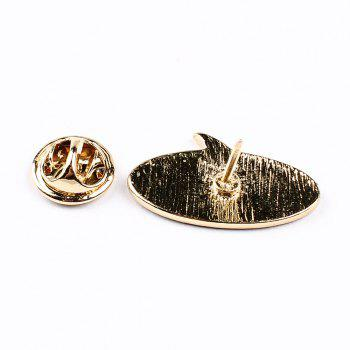 Victory Music Note Lightning Arrow Brooch Button Pins Jacket Denim Pin Badge Gift Fashion Jewelry for Women Men - COLORMIX