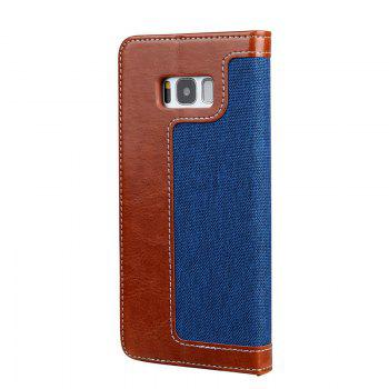 For Samsung S8 Belt Rope Wallet - BROWN