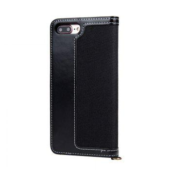 For Iphone 8Plus with rope wallet holster - BLACK