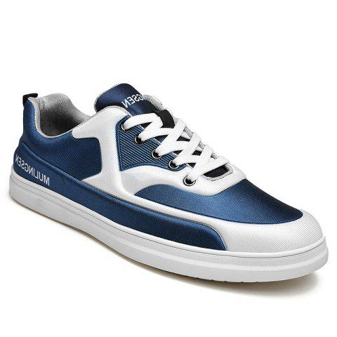 New Spring Elastic Cloth Rubber Soled Sports Shoes - BLUE 43