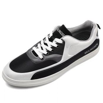New Spring Elastic Cloth Rubber Soled Sports Shoes - BLACK 41
