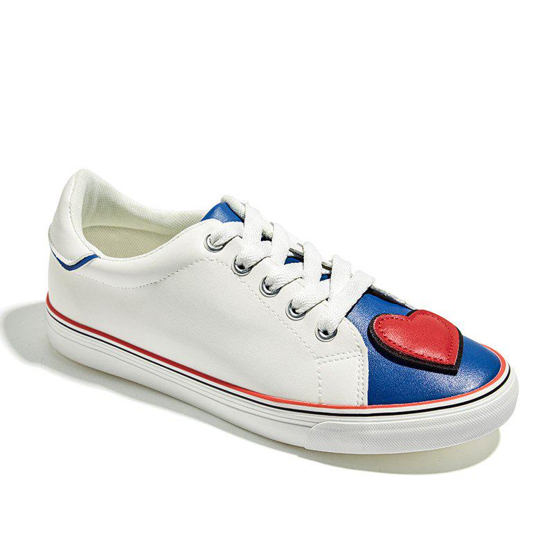 Low New Summer Magic Casual Shoes - WHITE 37